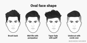 hairstyles by oval face shape