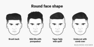 hairstyles for round face shape