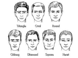 hairstyle by face shape